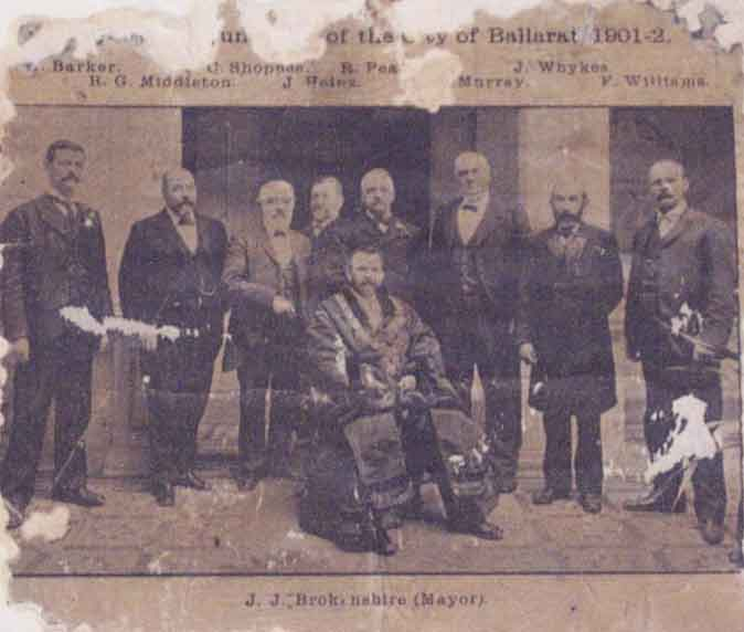 The Council, City of Ballarat 1901