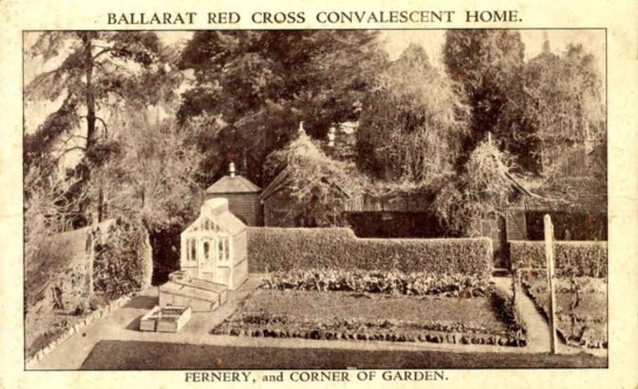 Fernery and Corner Garden Ballarat Red Cross
