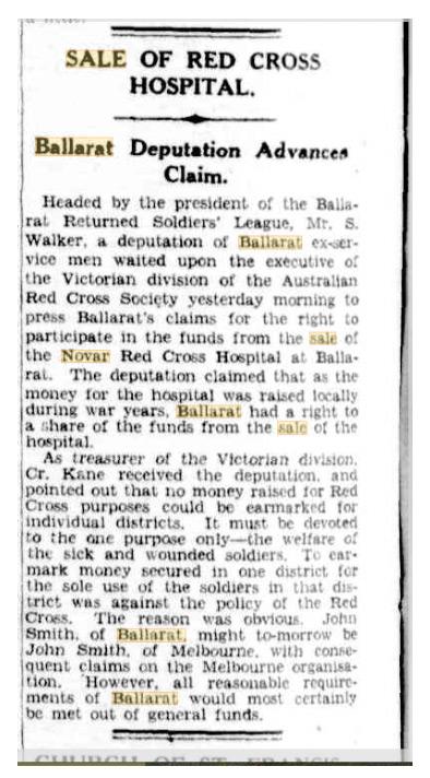 Portland, Guardian August 1929