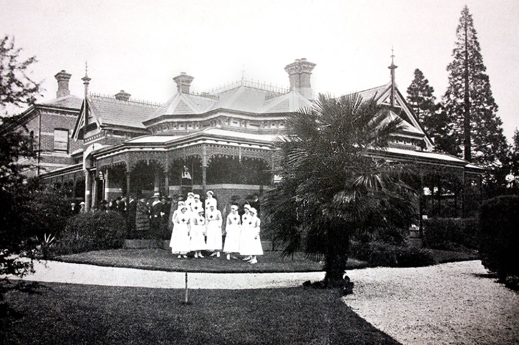 Red Cross Convalescent Home c1918